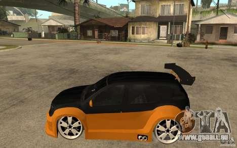 Dacia Duster Tuning v1 für GTA San Andreas linke Ansicht
