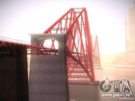 Orange ENB by NF v1 pour GTA San Andreas dixième écran
