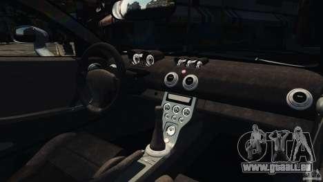 Ascari KZ1 v1.0 pour GTA 4 Vue arrière