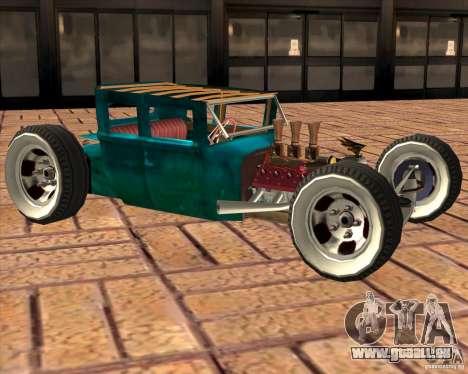 Ford model T 1925 ratrod pour GTA San Andreas laissé vue