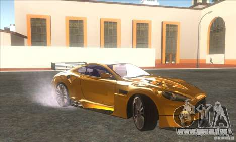 Aston Martin DB9 MW pour GTA San Andreas laissé vue