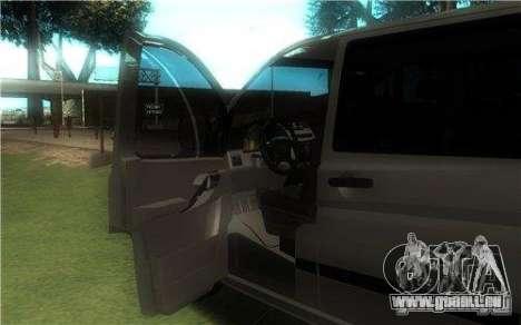 Mercedes-Benz Vito 2007 für GTA San Andreas rechten Ansicht