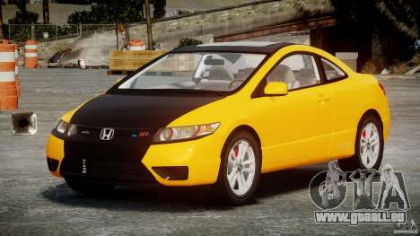 Honda Civic Si Coupe 2006 v1.0 für GTA 4 Innenansicht