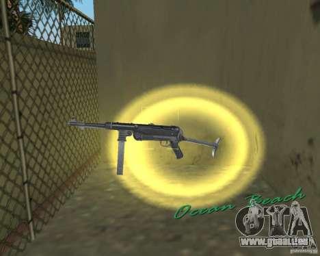 MP-40 pour GTA Vice City