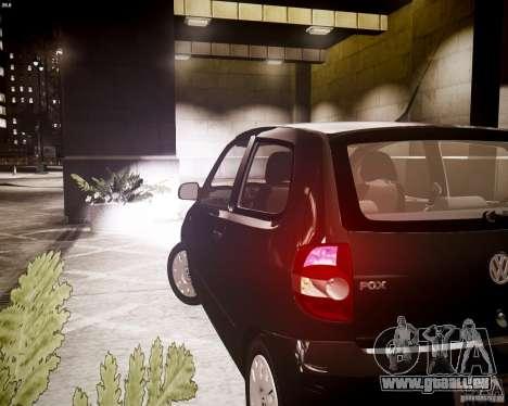 Volkswagen Fox 2011 pour GTA 4 Vue arrière
