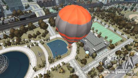 Balloon Tours option 4 pour GTA 4 Vue arrière de la gauche