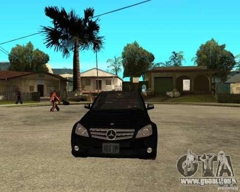 Mercedes Benz C350 W204 Avantgarde für GTA San Andreas Rückansicht