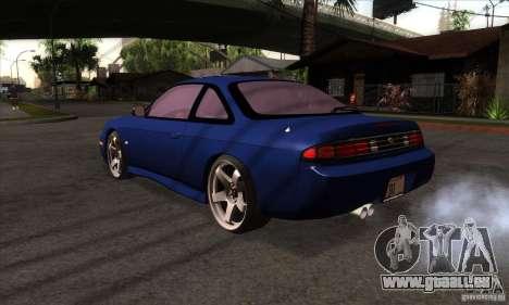 Nissan 200SX pour GTA San Andreas sur la vue arrière gauche