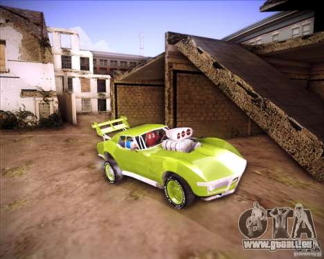 Chevrolet Corvette drag für GTA San Andreas