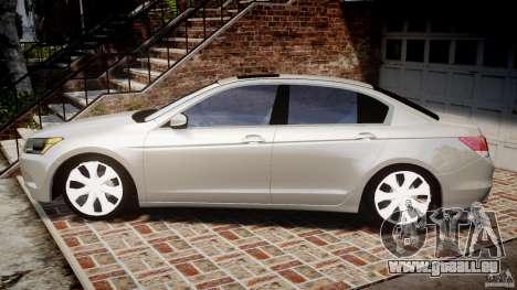 Honda Accord 2009 für GTA 4 linke Ansicht