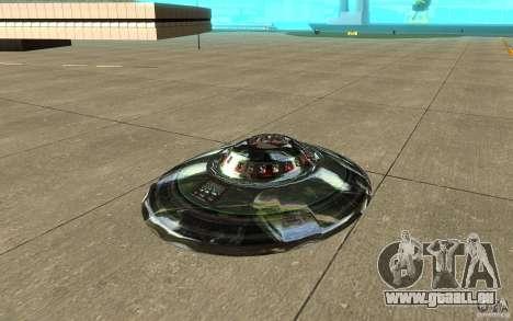 Real UFO für GTA San Andreas linke Ansicht