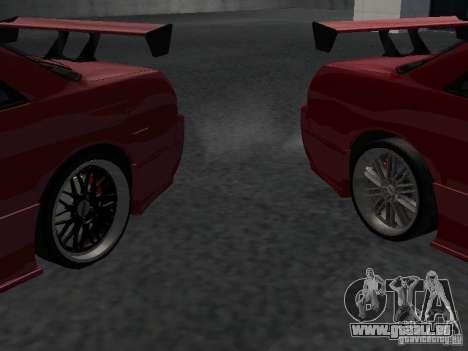 Nissan Skyline R32 Tuned für GTA San Andreas Unteransicht