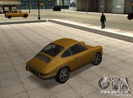 Porsche 911 S pour GTA San Andreas laissé vue