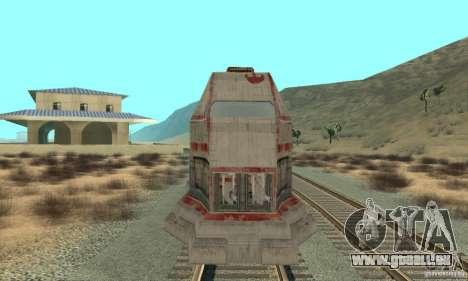 Un bon train, Star Wars pour GTA San Andreas laissé vue