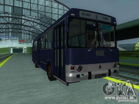 LAZ-4202 pour GTA San Andreas vue intérieure