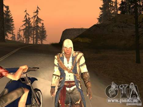 Connor From ACIII pour GTA San Andreas