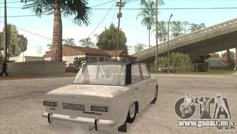 VAZ 2101 Dag pour GTA San Andreas vue de côté