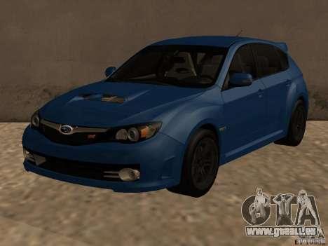 Subaru Imreza WRX für GTA San Andreas