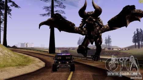 Hidden Dragon für GTA San Andreas dritten Screenshot