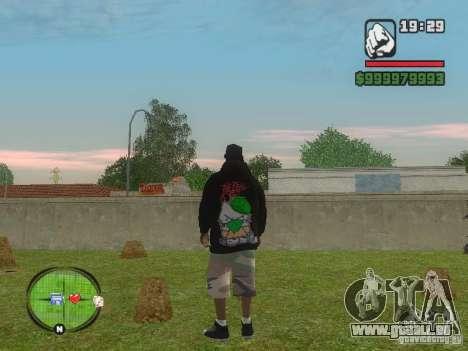 NEW Ryder für GTA San Andreas zweiten Screenshot