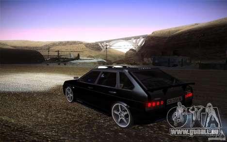 VAZ 2109 Carbon für GTA San Andreas linke Ansicht