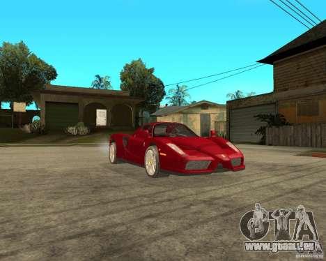 Ferrari Enzo pour GTA San Andreas vue arrière
