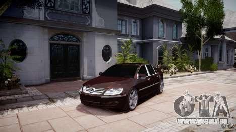 Volkswagen Phaeton W12 Long pour GTA 4 est un droit