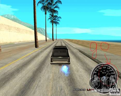 Perenniel Speed Mod für GTA San Andreas zweiten Screenshot