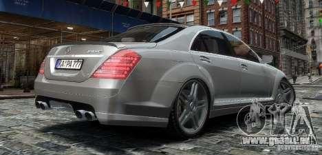 Mercedes Benz S63 Amg pour GTA 4 est une gauche