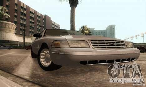 Ford Crown Victoria 2003 pour GTA San Andreas vue de droite