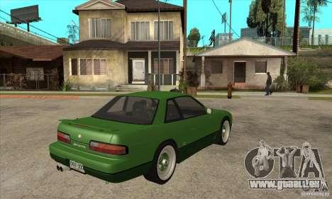 Nissan Silvia S13 1992 Club Ks pour GTA San Andreas vue de droite