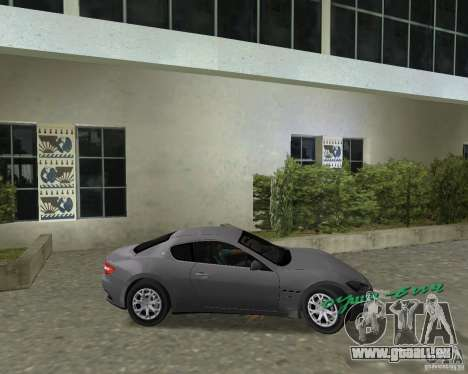 Maserati  GranTurismo pour une vue GTA Vice City de la droite