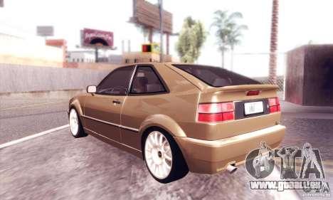 Volkswagen Corrado für GTA San Andreas rechten Ansicht