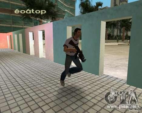AK-47 mit Underbarrel Schrotflinte für GTA Vice City zweiten Screenshot