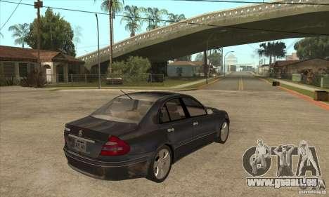 Mercedes-Benz E500 2003 für GTA San Andreas rechten Ansicht