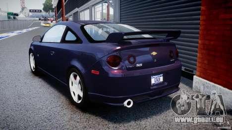 Chevrolet Cobalt SS pour GTA 4 Vue arrière de la gauche