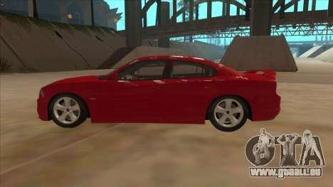 Dodge Charger RT 2011 V1.0 pour GTA San Andreas laissé vue