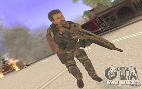 HK XM8 eotech pour GTA San Andreas