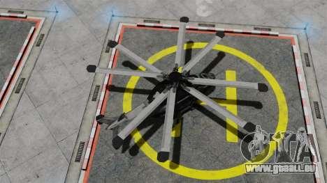 Hubschrauber C.E.L.L. für GTA 4 rechte Ansicht