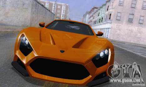 ENBSeries by dyu6 v6.0 pour GTA San Andreas deuxième écran