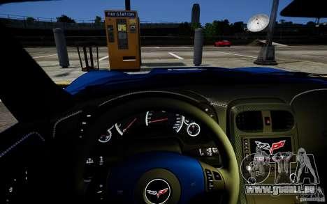 Chevrolet Corvette ZR1 für GTA 4 Rückansicht