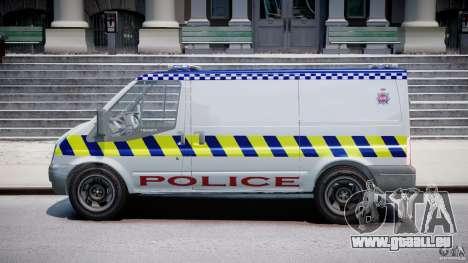Ford Transit Polish Police [ELS] pour GTA 4 est une gauche