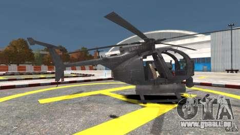 New AH-6 Little Bird pour GTA 4 est une gauche