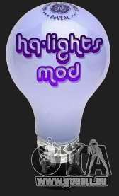 High Quality Lights Mod v2.0 - HQLM v 2.0 für GTA San Andreas