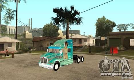 Peterbilt 387 peau 4 pour GTA San Andreas