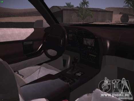 Chevrolet Corvette Grand Sport für GTA San Andreas obere Ansicht