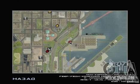 LUKOIL de charge pour GTA San Andreas troisième écran