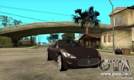 Maserati Gran Turismo pour GTA San Andreas vue arrière