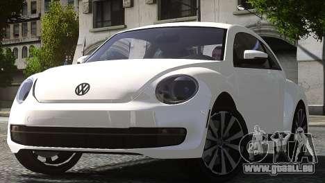 Volkswagen Beetle Turbo 2012 für GTA 4