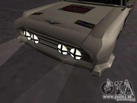 Bloodring Banger (A) de Gta Vice City pour GTA San Andreas vue arrière